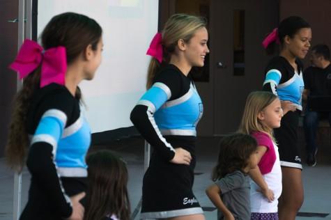 Student Cheer Performance