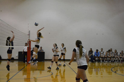 A Successful End for JV Volleyball