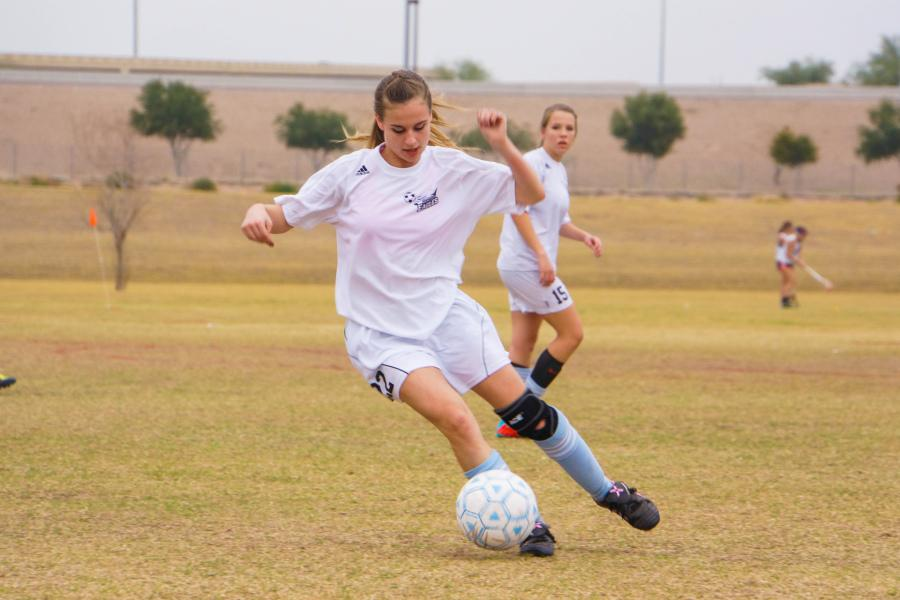 Horizon Honors Girls' Soccer Seniors Finish Season