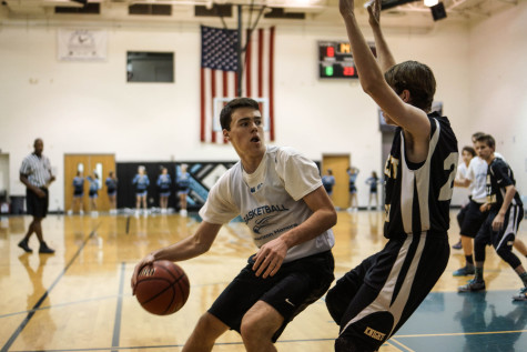 Middle School Boys Face the Knights