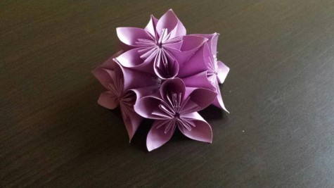 Folding and Flowers: Kusadama Flower