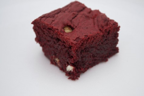 Red Velvet White Chocolate Brownies