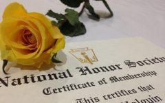 Honoring NHS Inductees