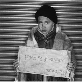 Homeless Child, Microsoft image