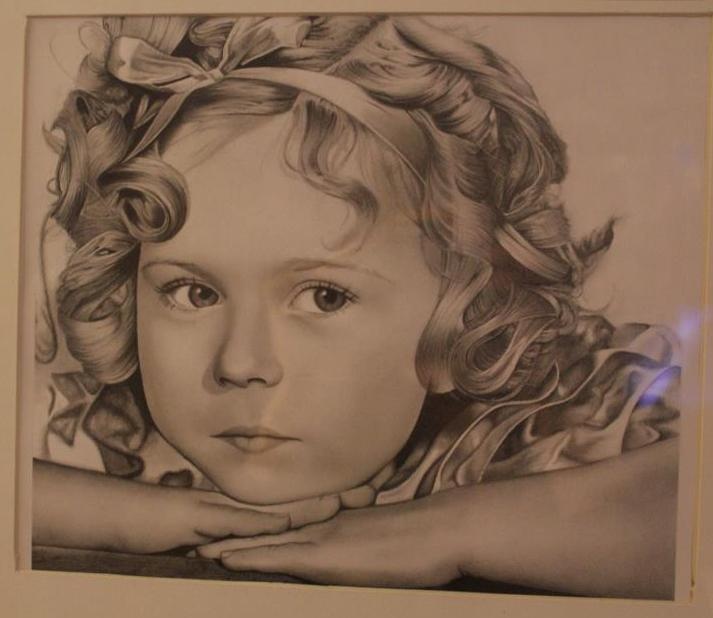 Shirley Temple, from the 2012 collection of Mariah Gresko, grade 12.