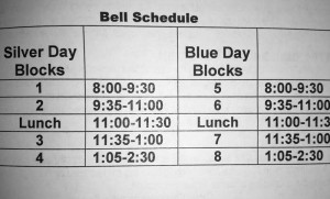 New Year, New Schedule