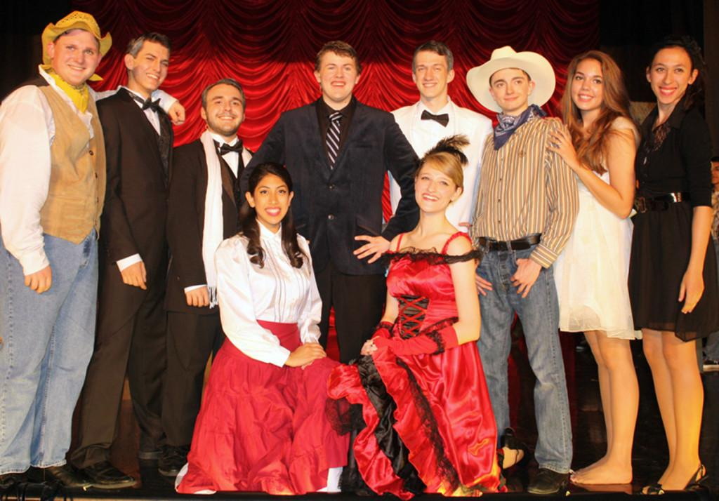 Curtains Rise on Spring Production