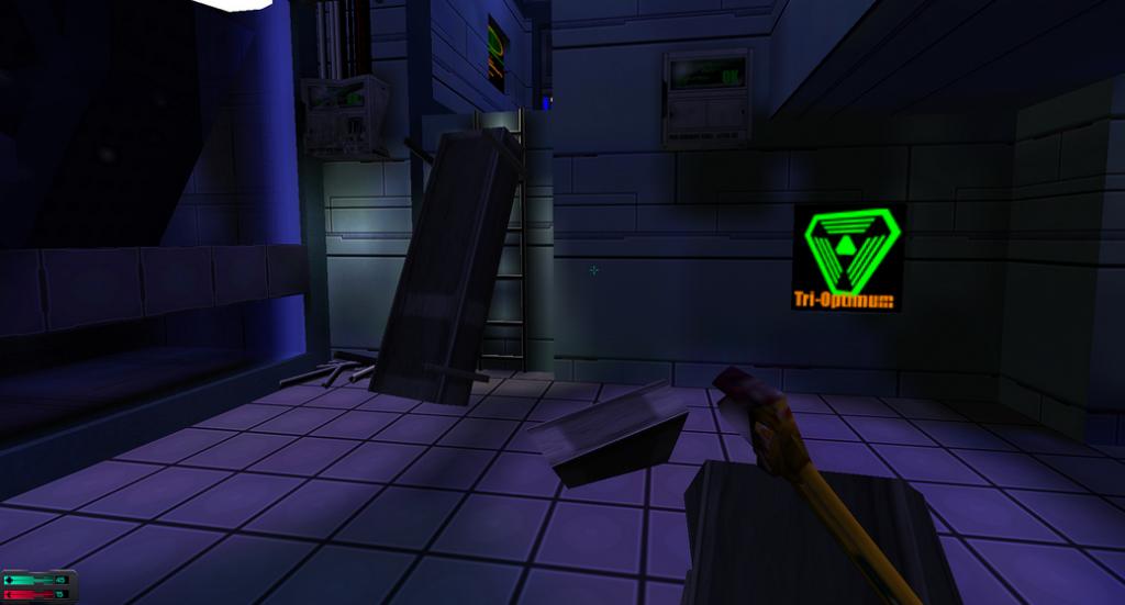 Image taken in game, System Shock 2, by Evan Rosser