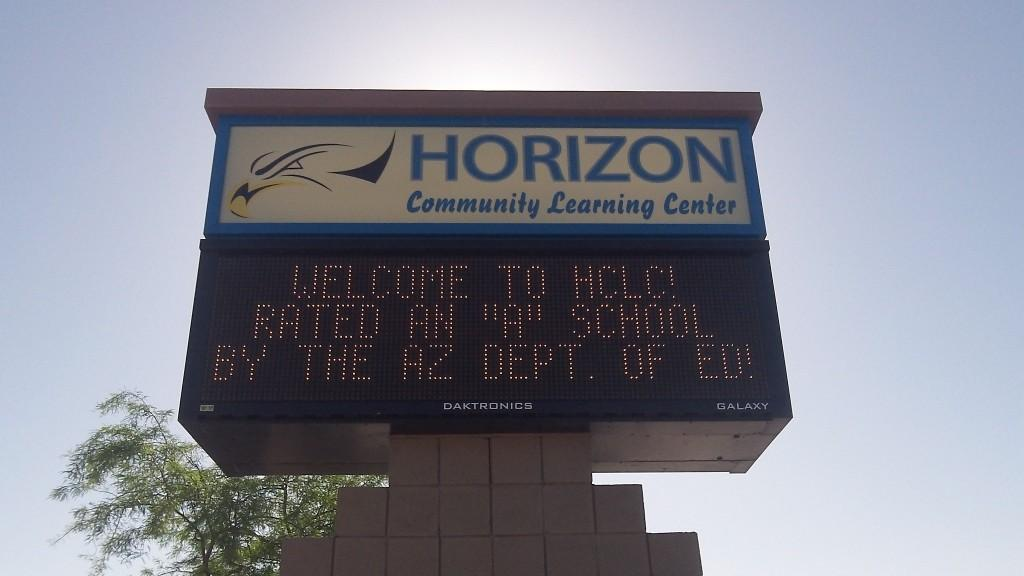 Horizon Honors Rank, taken by Marty Rhey.