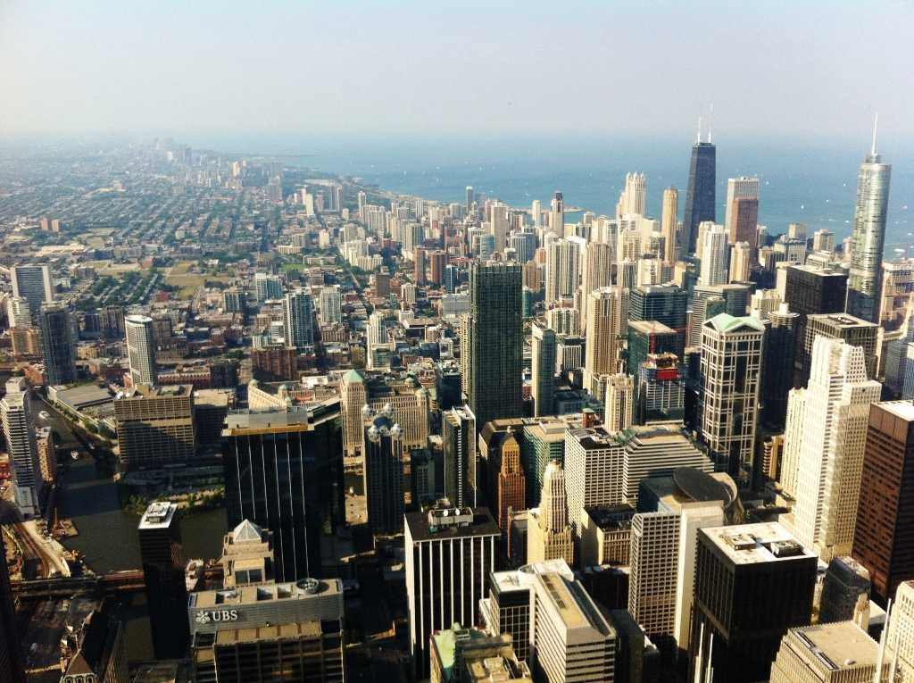 The Chicago Skyline, a view from the Willis (formerly Sears) Tower
