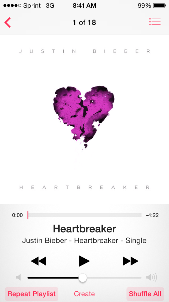 """Heartbreaker"" was the first to be released. Interview clips and singles will continue to be published weekly until his documentary is in theaters."