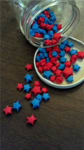 Cute li'l paper stars