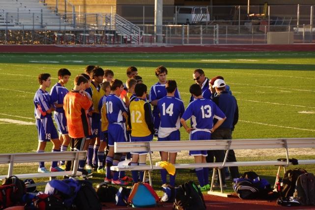 The Eagles V. Rams: High School Boys' Soccer