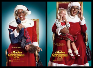 Madea does not like children as much as any other middle-aged lady, she is very annoyed. When Madea got a part time job as Mrs.Claus, she mistreated the kids. Photo Courtesy of www.movieweb.com, Copyright © 2013.