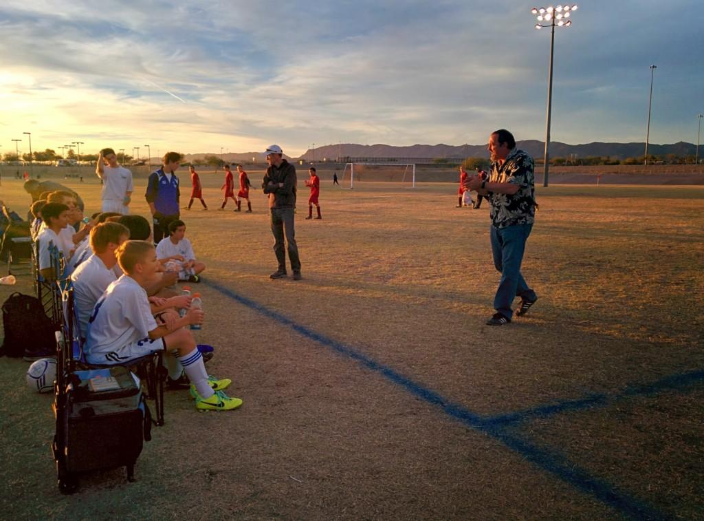 Boys' Soccer Finishes Off the Season with a Senior Night Triumph