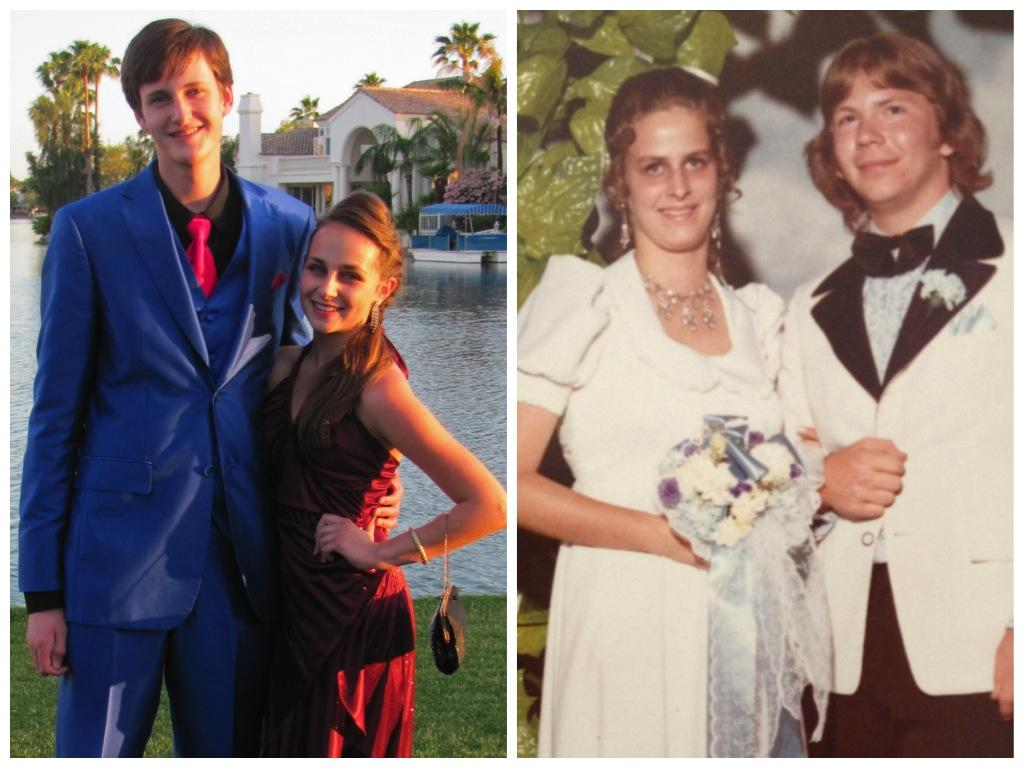 Going to prom shouldn't be stressful, but whatever choice you make, make sure you know you're doing the right thing for you. Spot the difference: my freshman prom, 2014; my mother's freshman prom, Shenandoah High School, Albany, New York, 1973.