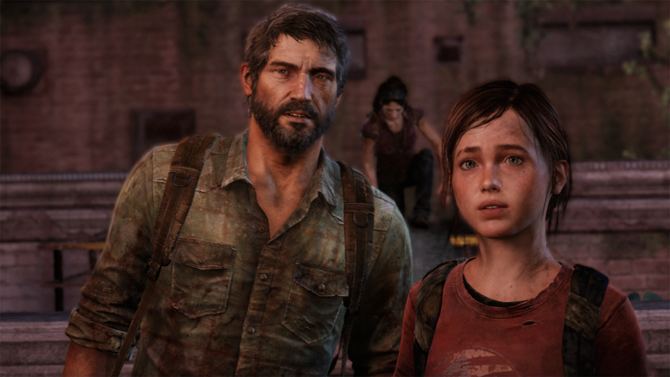 Joel, Tess, and Ellie traverse America's wasteland future in