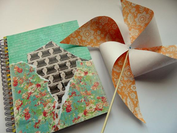 Pinwheel and Journal