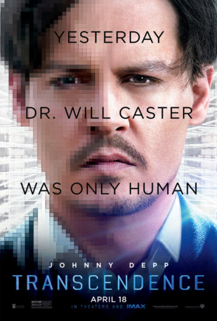 "Poster for ""Transcendence."" © Warner Bros Pictures"