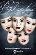 The Pretty Little Liars season five poster. The show will return Tuesday, June 10.