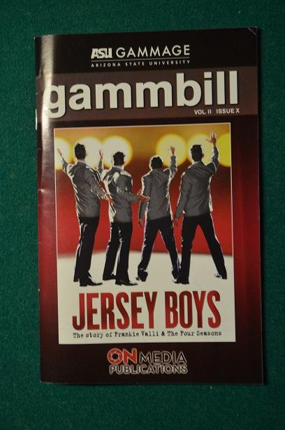 An in-character cast provided reason for the applause, and most all of the theater-goers thoroughly enjoyed the experience.  Classics like The Jersey Boys can be skewed depending on the theater, but ASU Gammage did it justice.