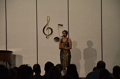"""Naeema Preciado performs a classic, """"Someone To Watch Over Me."""""""