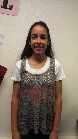 Fall athlete Pilar Rivera is enthusiastic about her past soccer season.