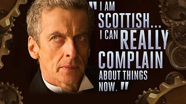One of the best quotes from the Twelfth Doctor's first episode,