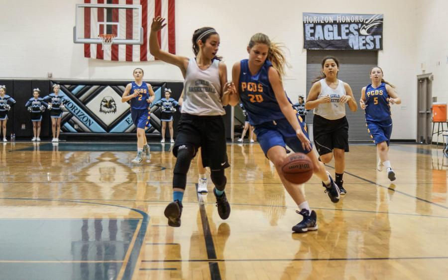 Middle School Basketball vs. PCDS