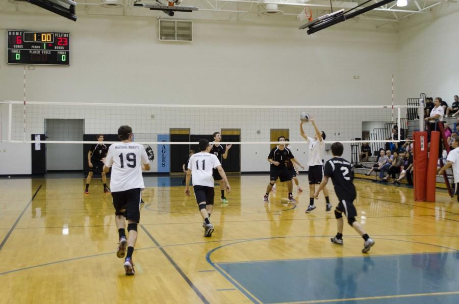 Boys Varsity Volleyball's