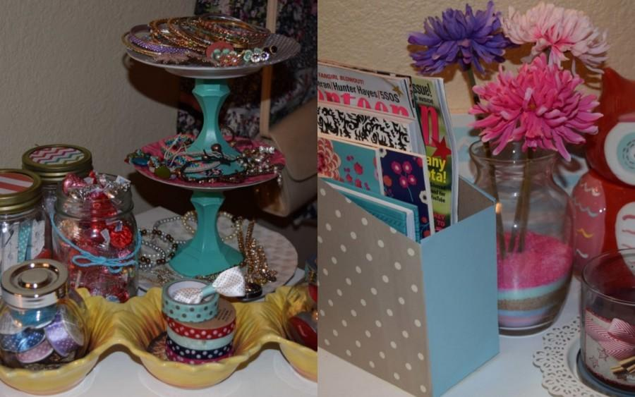 Using just scrapbook and a few simple steps, these DIY projects will make any room pop.