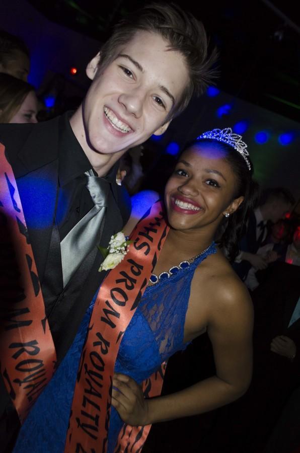 Juniors Paul Volker and Natori Cruz were this years Prom Junior Prince and Princess!