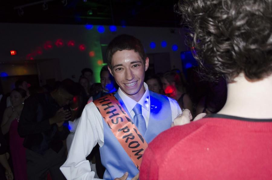 Senior Garrett Leake was this years Prom Senior Prince!