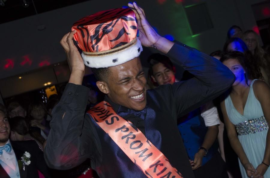 Senior Kamal Jones was this years Prom King!