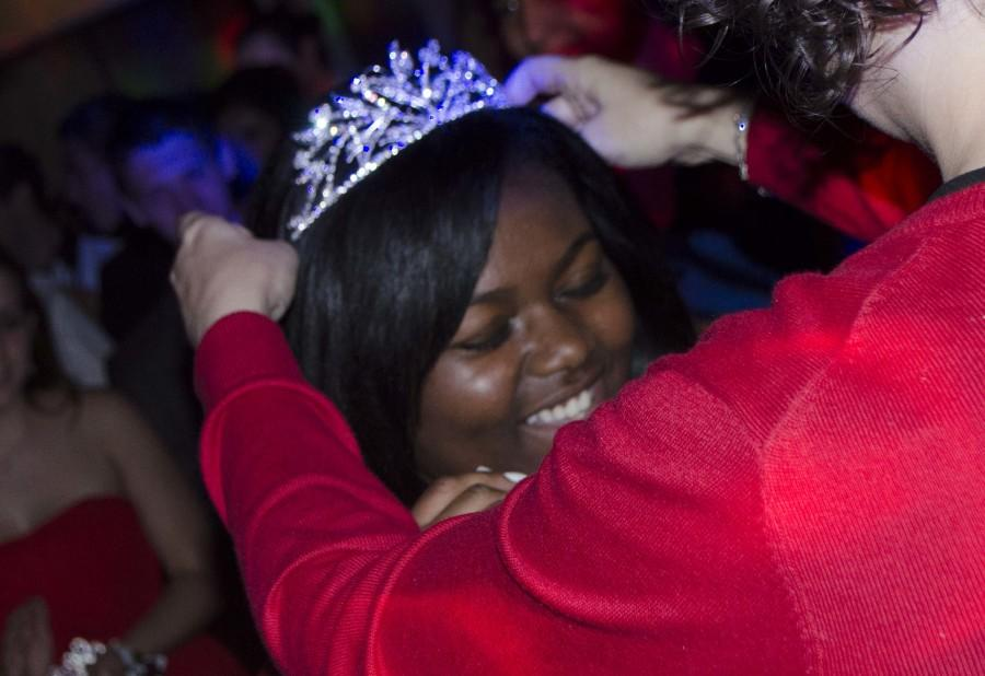 Senior Cristiana Shand was this years Prom Queen!
