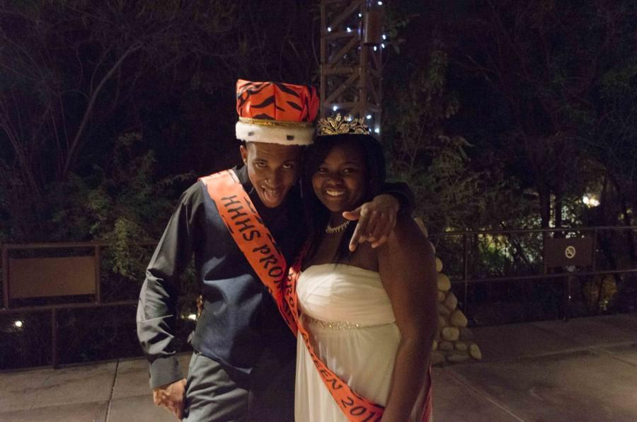 Seniors Kamal Jones and Cristiana Shand were this years Prom King and Queen!