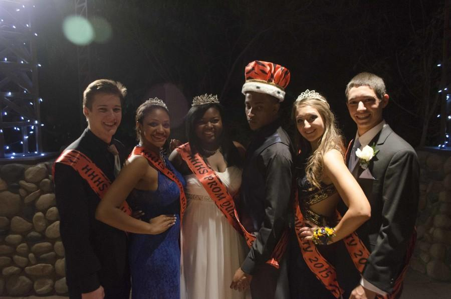 The 2014-2015 HHHS Prom Court!