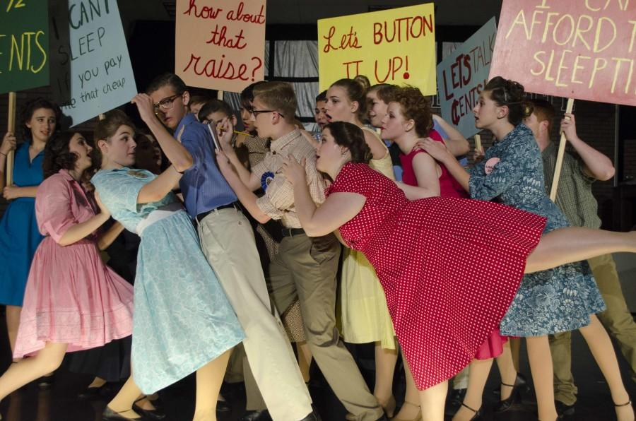 Horizon Honors production of The Pajama Game was a huge success because of the fantastic cast and crew!