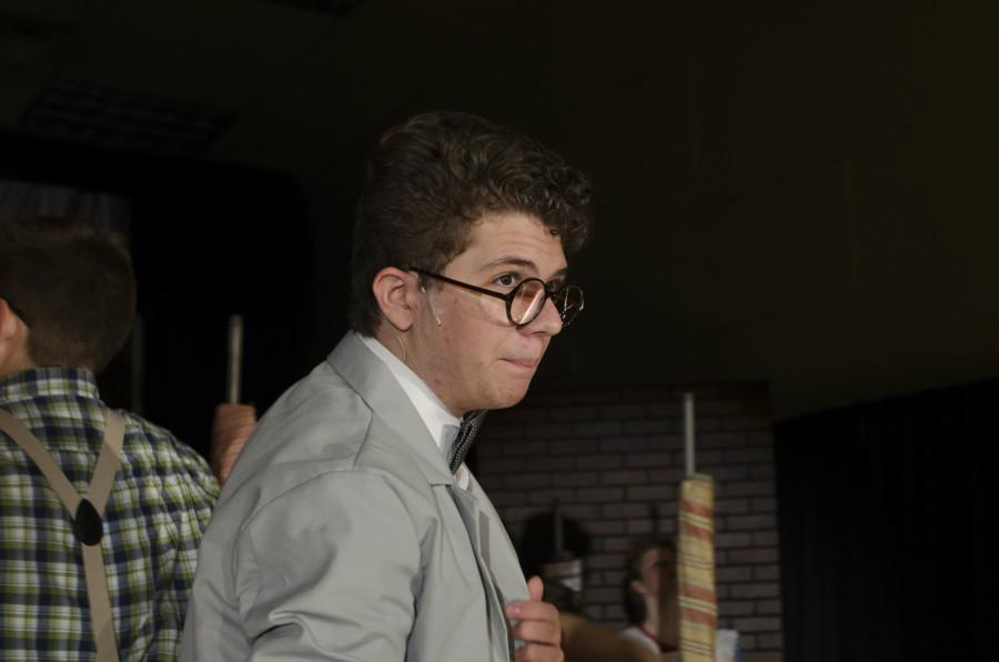 Sophomore Joey Vitagliano played Vernon Hines in