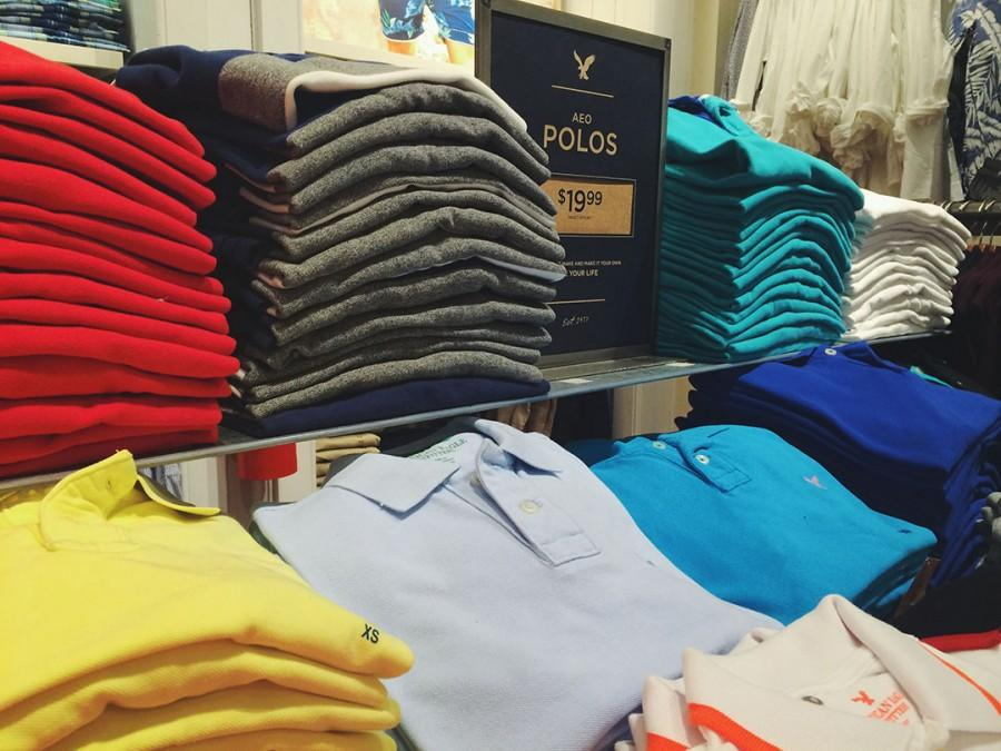 American Eagle polos starting at $19.99