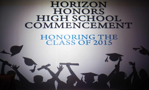 The 2015 Horizon Honors High School Graduation was on Tuesday, May 26, 2015.
