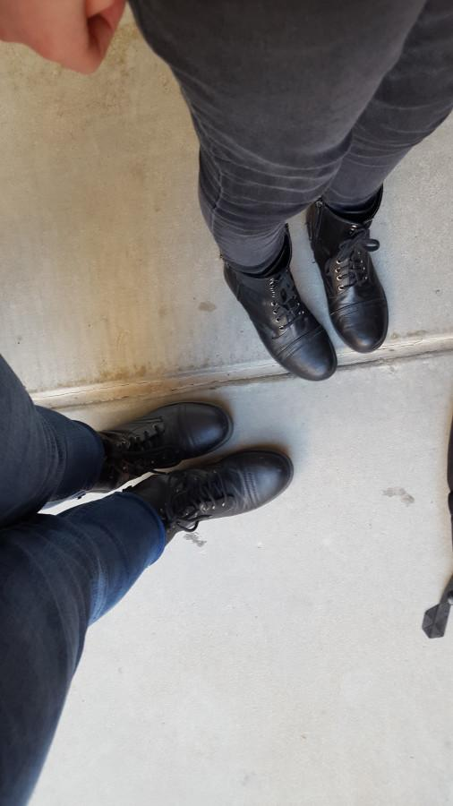 At any punk rock concert, you're bound to find lots of people with combat boots. Yet, just because fans don dark colors, doesn't mean the music is just as dreary.