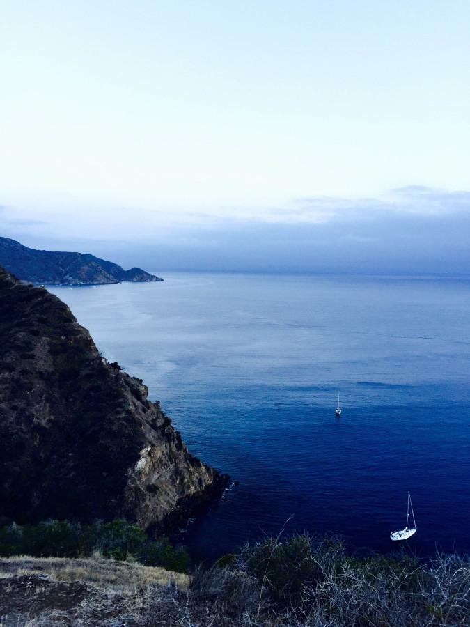 Horizon Honors' Wilderness Club went to Catalina Island during the weekend of  Oct. 17.