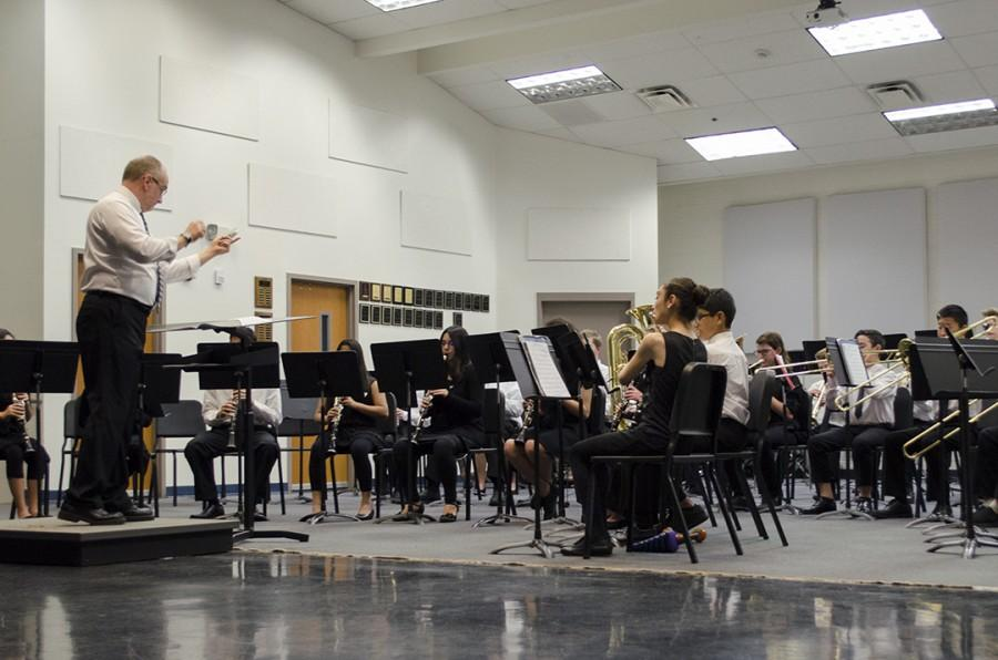 On Thursday, Feb. 19, Wind Ensemble performed their Semester 2 music.