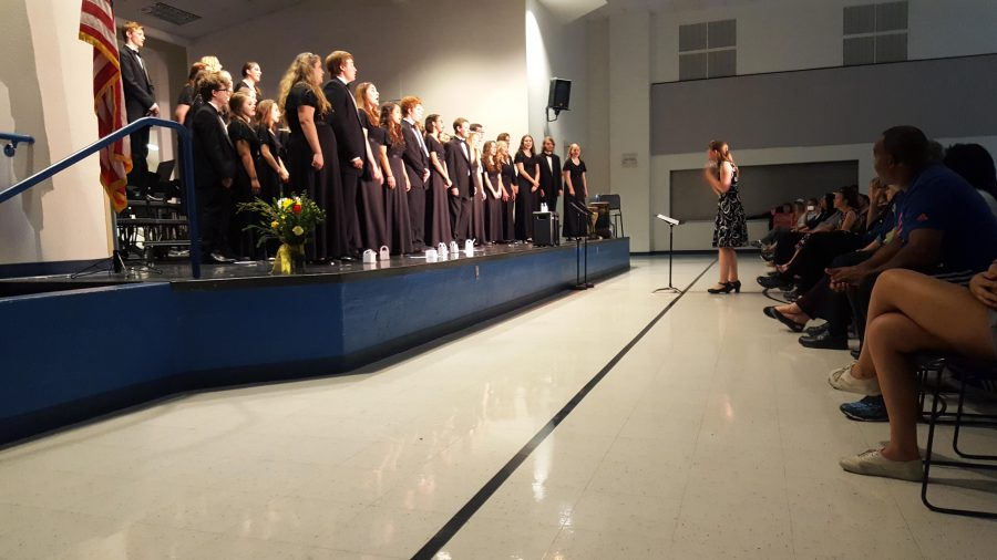 A beautiful performance by Horizon Honors award winning Cantabile choir.