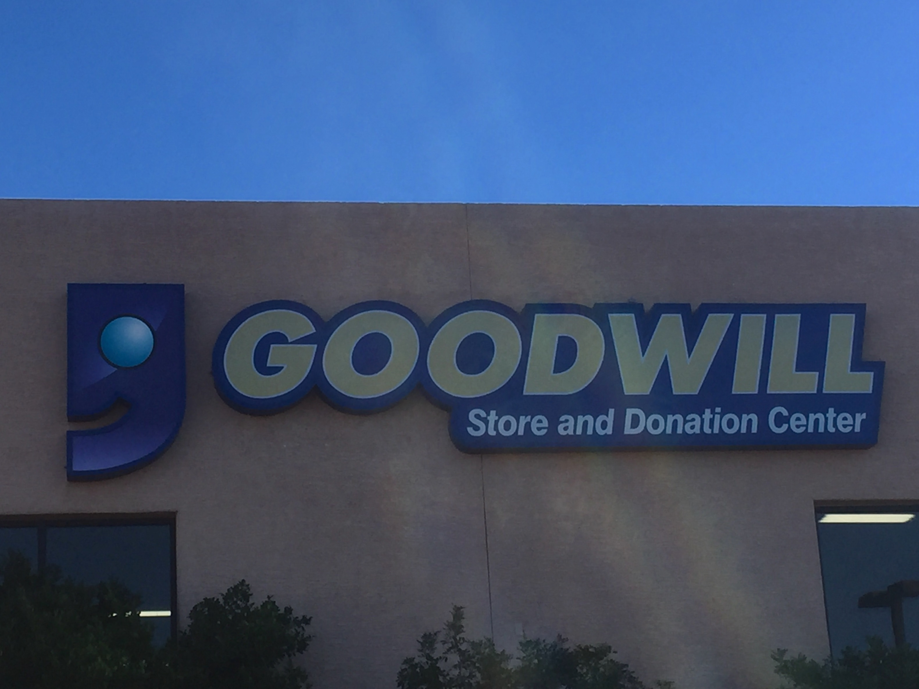 Goodwill is a great store to find great bargains and beautiful clothes.