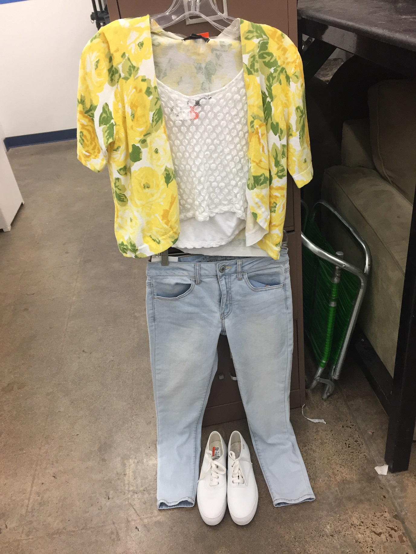 This+is+a+brighter+outfit%2C+and+I+love+the+floral+print.+The+outer+layer+costs+%244.99.+the+shirt+cost+%244.99%2C+the+pants+cost+%2412.99%2C+and+the+shoes+cost+%247.99%2C+bringing+the+whole+outfit+to+%2430.96.