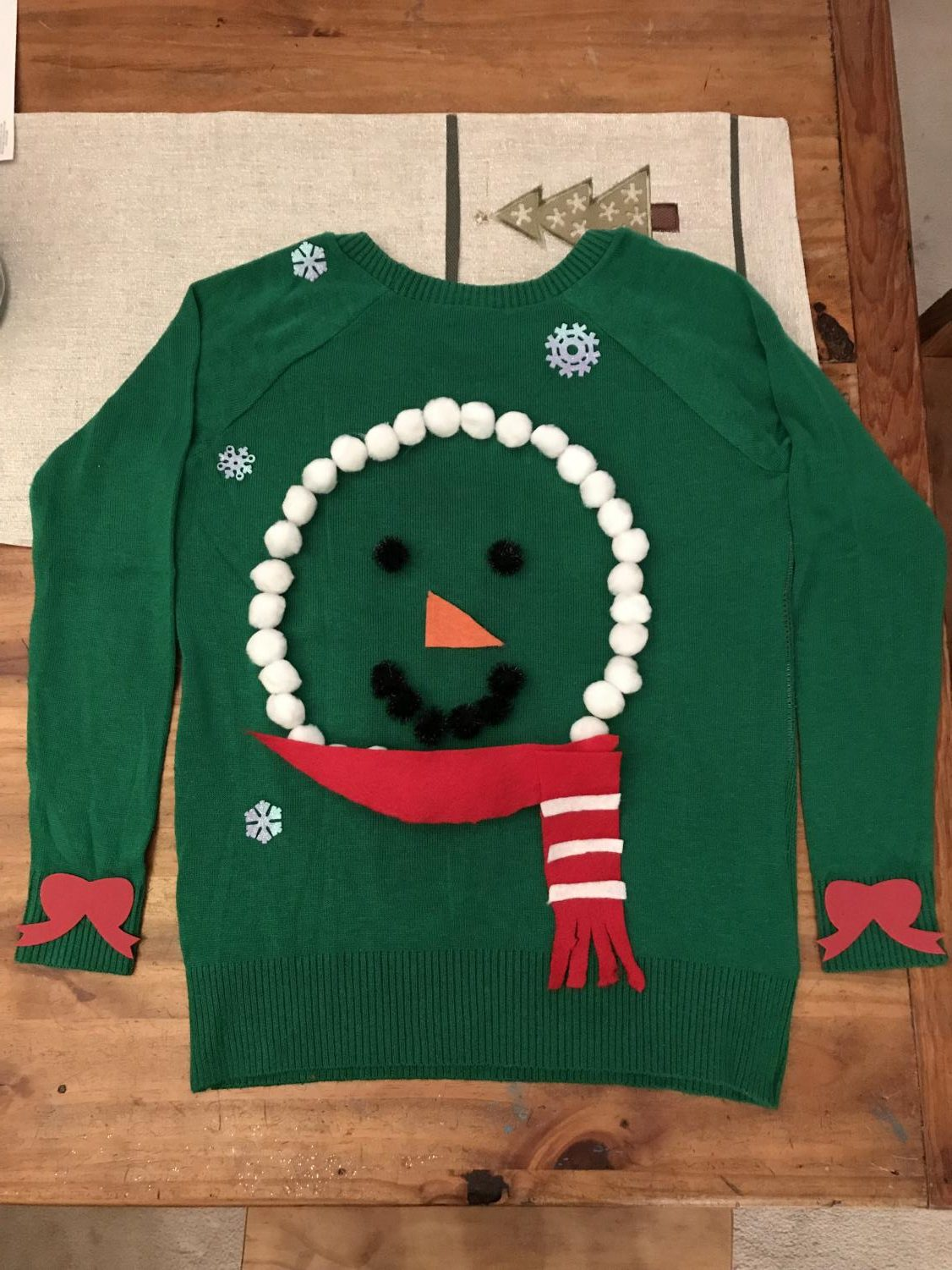 Make this charming DIY ugly sweater to celebrate the season.