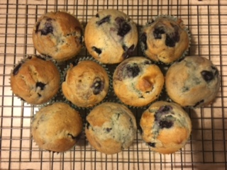 Scrumptious muffins are a delightful way to start the day.