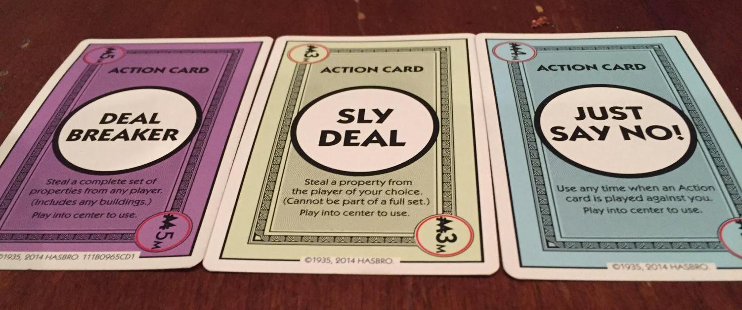 Make money moves with Monopoly Deal.